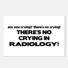 There's No Crying Radiology Postcards (Package of