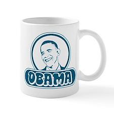 Obama (retro bubble) Mug