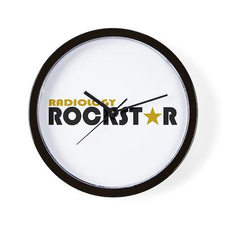 Radiology Rockstar 2 Wall Clock