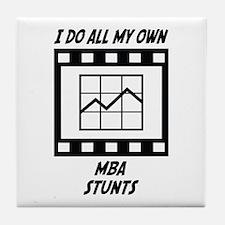 MBA Stunts Tile Coaster