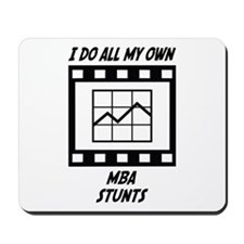 MBA Stunts Mousepad