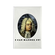 I Can Handel It Rectangle Magnet