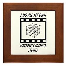 Materials Science Stunts Framed Tile