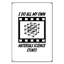 Materials Science Stunts Banner