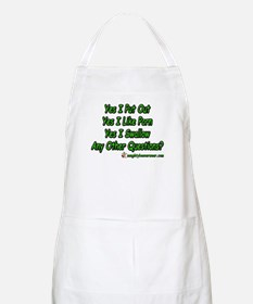 I Put Out Any Other Questions BBQ Apron