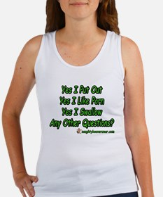 I Put Out Any Other Questions Women's Tank Top