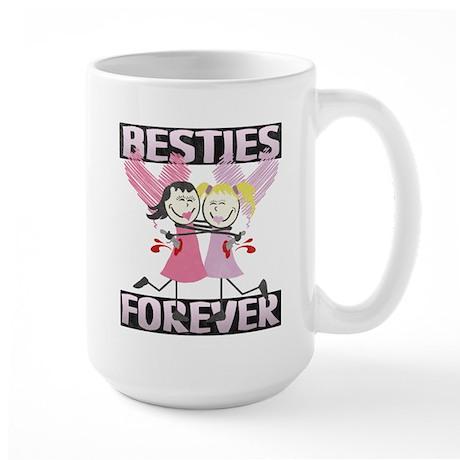 BFF Best Friends Forever Large Mug
