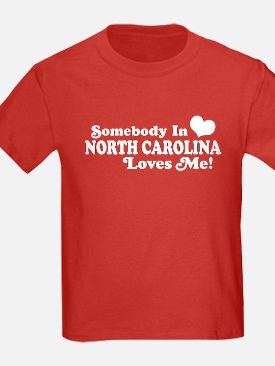 Somebody in North Carolina Loves me T