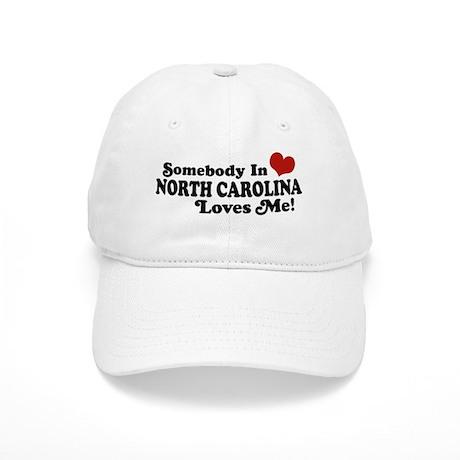 Somebody in North Carolina Loves me Cap