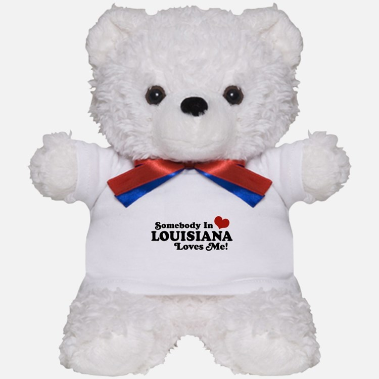 Somebody in Louisiana Loves me Teddy Bear