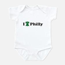 I LOVE PHILADELPHIA I LOVE PH Infant Bodysuit