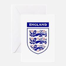 Unique England Greeting Card