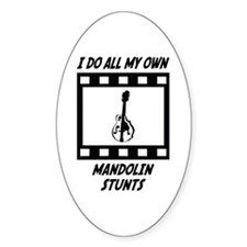 Mandolin Stunts Oval Decal
