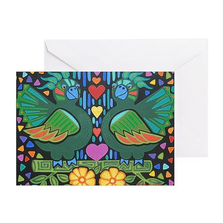 Love Birds Greeting Cards (Pk of 10)