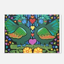 Love Birds Postcards (Package of 8)