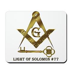 Light of Solomon #77 Mousepad