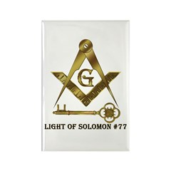 Light of Solomon #77 Rectangle Magnet (100 pack)