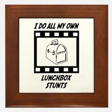 Lunchbox Stunts Framed Tile