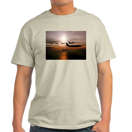 F-16 Falcons Refueling Light T-Shirt