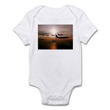 F-16 Falcons Refueling Infant Bodysuit