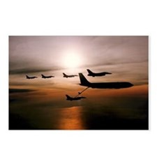 F-16 Falcons Refueling Postcards (Package of 8)