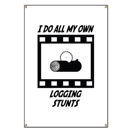 Logging Stunts Banner