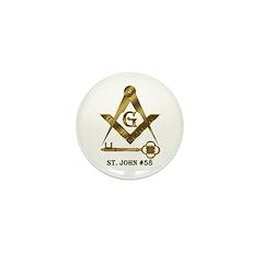 St. John #58 Mini Button (10 pack)