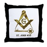 St. John #58 Throw Pillow