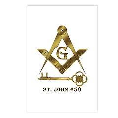 St. John #58 Postcards (Package of 8)