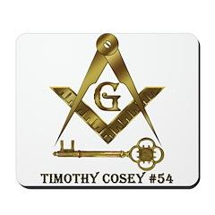 Timothy Cosey #54 Mousepad