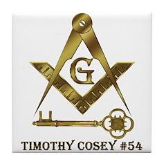 Timothy Cosey #54 Tile Coaster