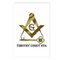 Timothy Cosey #54 Postcards (Package of 8)