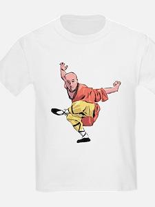 Shaolin Kungfu Kids T-Shirt