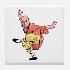 Shaolin Kungfu Tile Coaster
