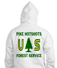 Pike Hotshots Hooded Shirt 2