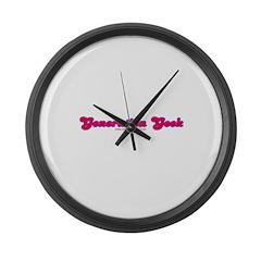 Generation Geek Large Wall Clock