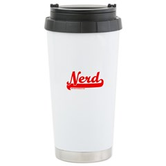 Softball Nerd T Travel Mug
