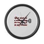 You Must Be a Wind Up Toy Large Wall Clock