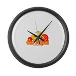 Old School Big Wheel Large Wall Clock