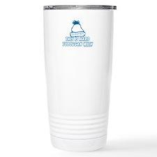 This Is Hard Toboggan With Travel Mug