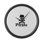 Pirate Large Wall Clock