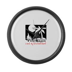 Tortuga Land of Enchantment T Large Wall Clock
