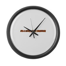 I'm A Little Sumo Wrestler Large Wall Clock