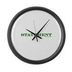 Statement Large Wall Clock