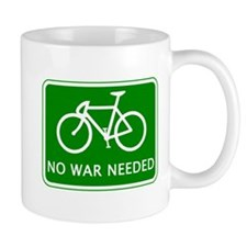 BICYCLE. No War Needed Mug