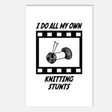 Knitting Stunts Postcards (Package of 8)