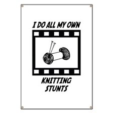 Knitting Stunts Banner