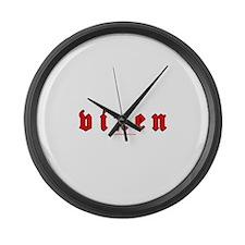 Vixen Large Wall Clock