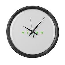 Skinny Vixen Large Wall Clock