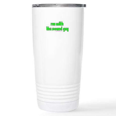 I'm W/ The Sound Guy Stainless Steel Travel Mug